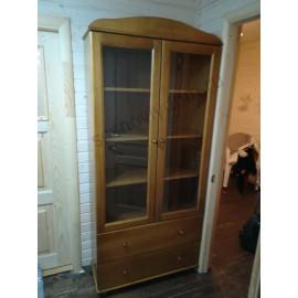 Книжный шкаф 105,классический орех-2