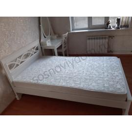 Кровать Лира-2,белая