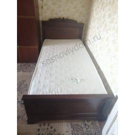 Кровать Афина,коричневый-3