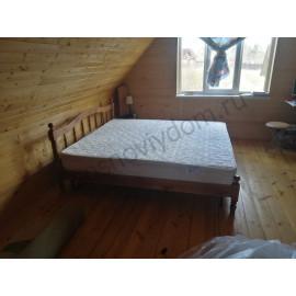 Кровать Бланка,коричневый-2