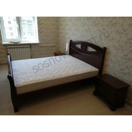 Кровать Делиз,старый орех-3