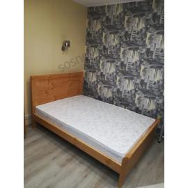 Кровать Бруклин,старый орех-1
