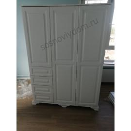 Шкаф Лиана-4,белый