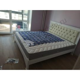 Кровать Омега-6,цвет белый