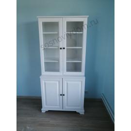 Книжный шкаф 106,цвет белый