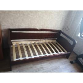 Кровать Омега-12 детская,старый орех-3