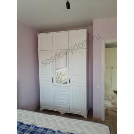 Шкаф Лиана 247,цет белый