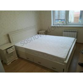 Кровать Верди,слоновая кость