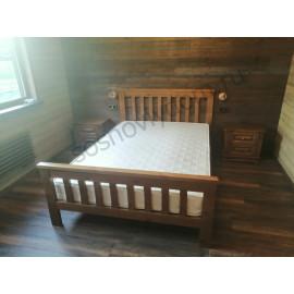 Кровать Аристо,классический орех-2