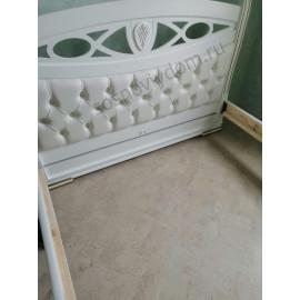 Кровать Сиена,цвет белый