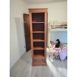 Шкаф Книжный Верди 312,старый орех-2