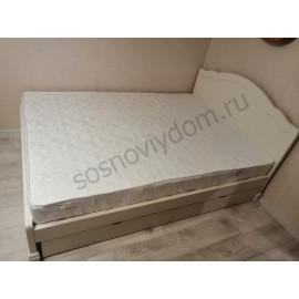 Кровать Сатори,слоновая кость