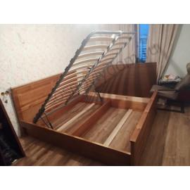 Кровать Верди,коричневый-2