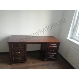 Письменный стол №2,классический орех-3