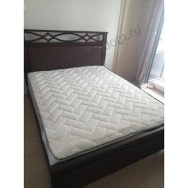 Кровать Крокус-2 ,классический орех-3